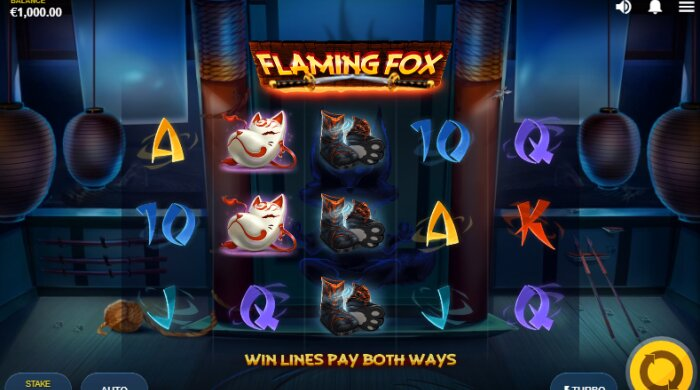 Flaming Fox Jackpot Slot