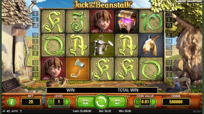 Jack and the Beanstalk Bet At Home Slot