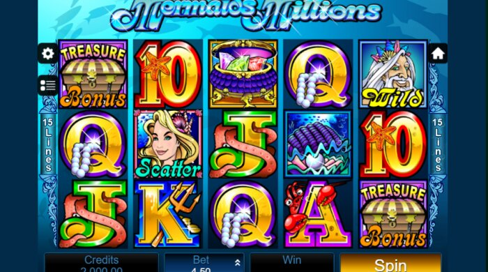 Mermaid's Millions Jackpot Slot