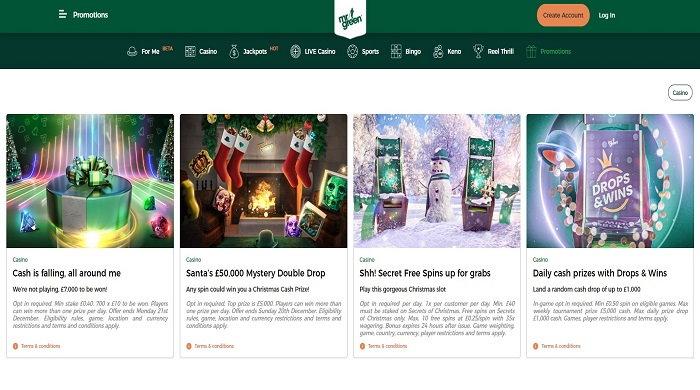 Mr Green Casino Validation Code