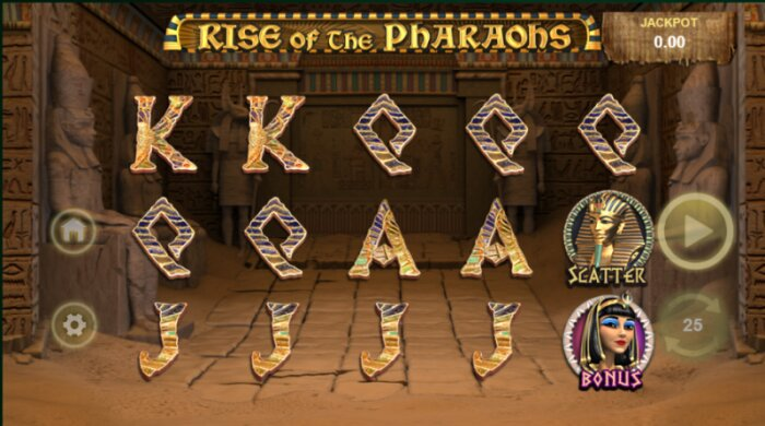 Rise of the Pharaohs Jackpot Slot