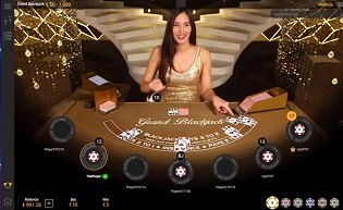 Live Blackjack at Playtech